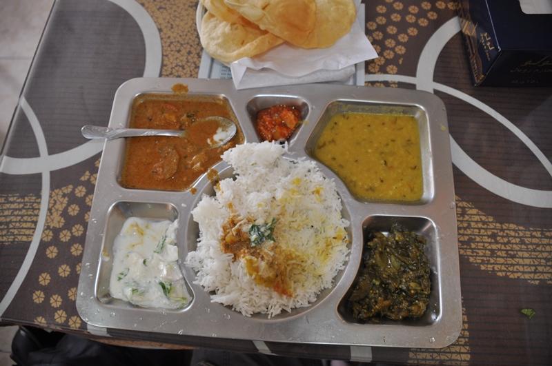 Lækker indisk mad i Oman