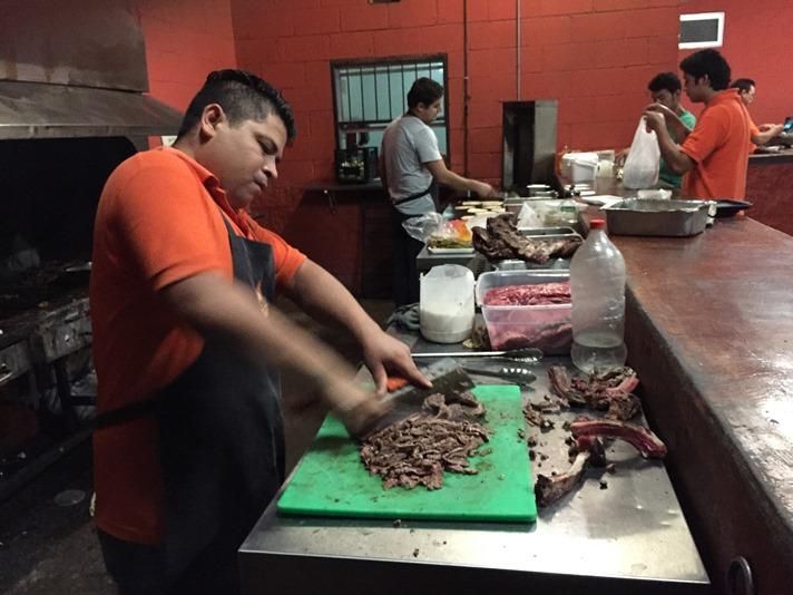 Carne asada til tacos