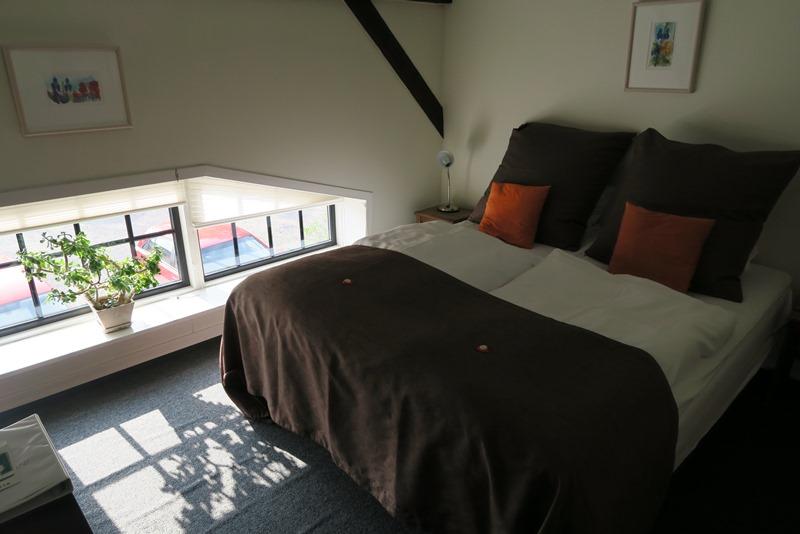 Vores fine værelse på Benniksgaard Hotel