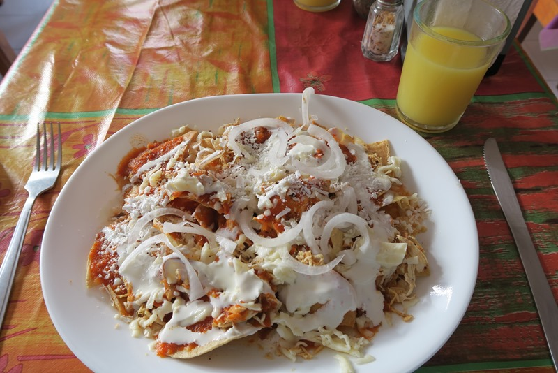 Morgenmadsretten chilaquiles