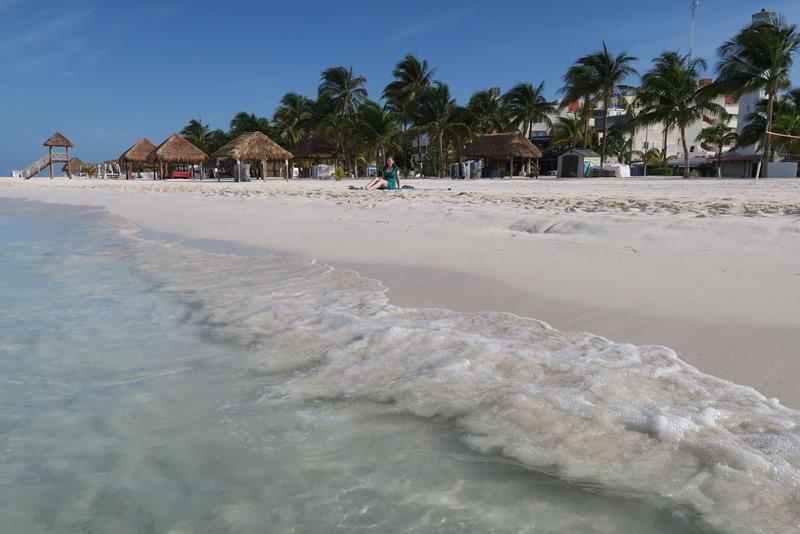 Den skønneste strand på Isla Mujeres