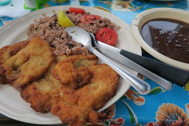 Mad på cubansk restaurant