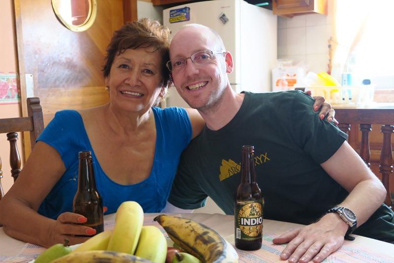 Rasmus på besøg hos hans mexicanske mor