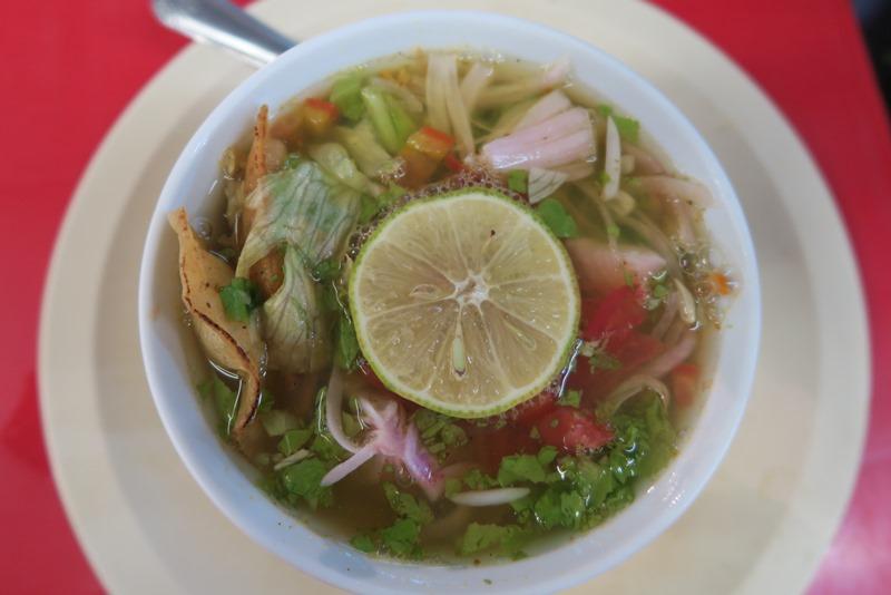 Sopa de lima i Mexico