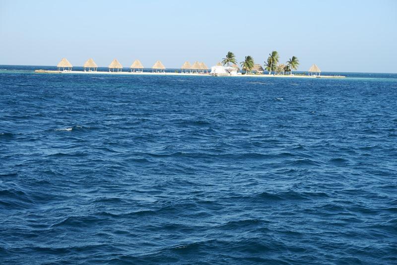 Rendevous Caye i Det caribiske hav