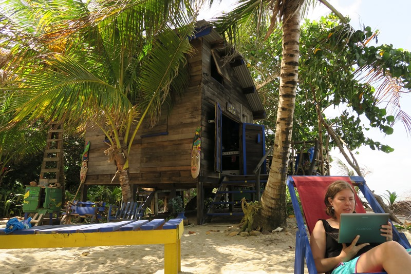 Kismet Inn i Hopkins, Belize