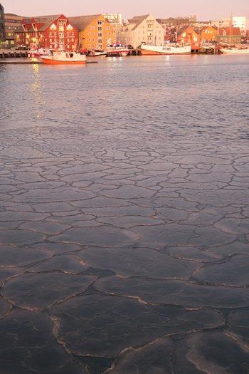 Tilfrosset havn i Tromsø