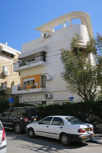 Bauhausearkitektur i Tel Aviv