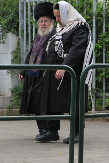 Ortodokse jøder i Tel Aviv