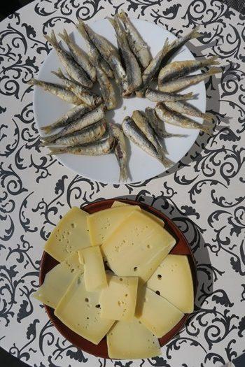 Ost og fisk