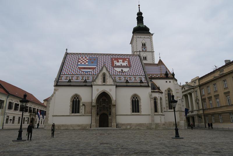 Sct. Marcus kirken i Zagreb