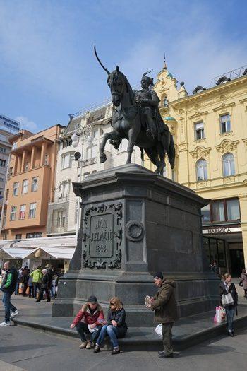 Trg bana Josipa Jelačića, Zagreb