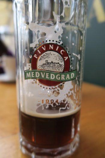 Øl fra det lokale bryghus, Zagreb