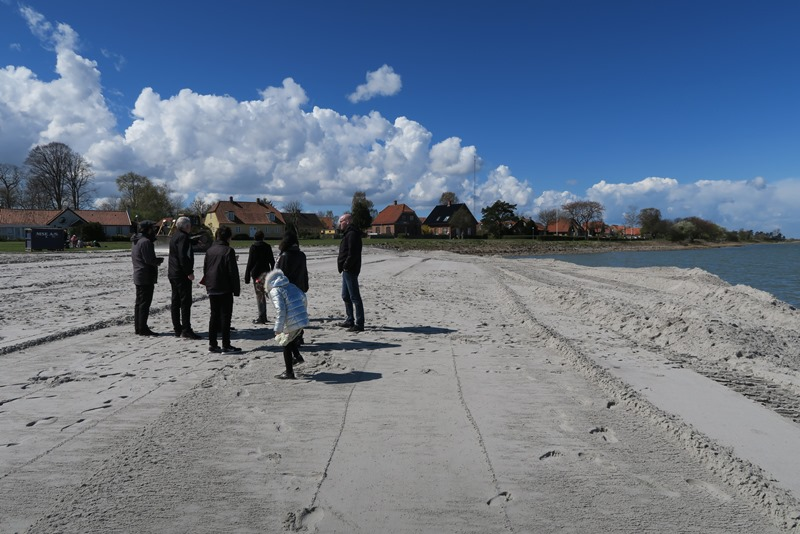 Den nye strand i Bandholm