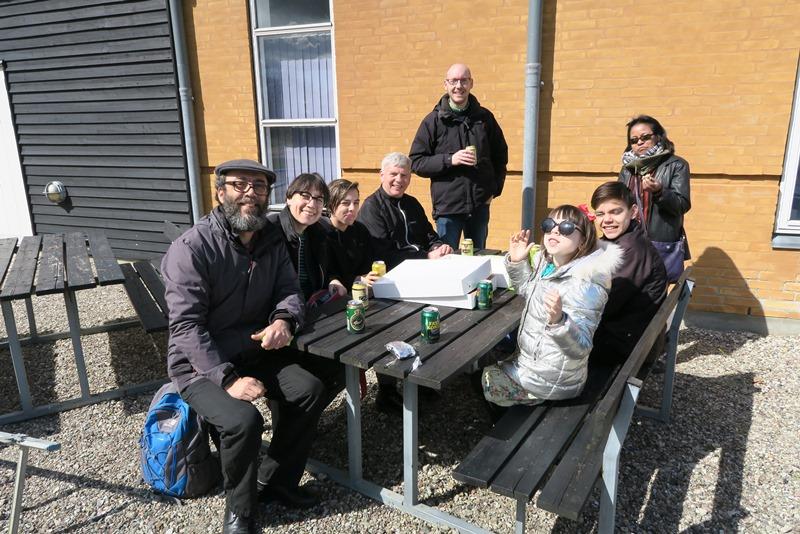 Frokost i Kragenæs havn