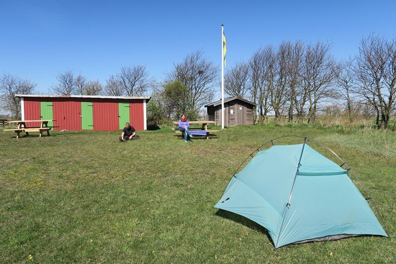 Vores telt ved Seby