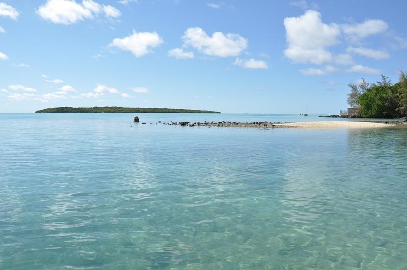Blue bay på Mauritius