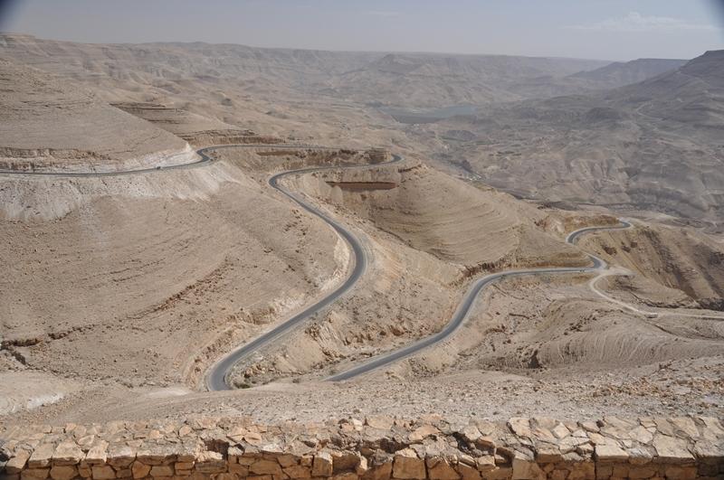Smukt landskab i Jordan