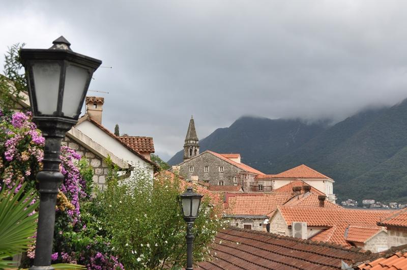 Den smukke by Perast i Montenegro