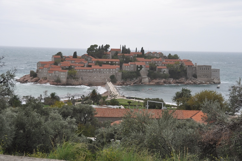 Hoteløen Sveti Stefan i Montenegro