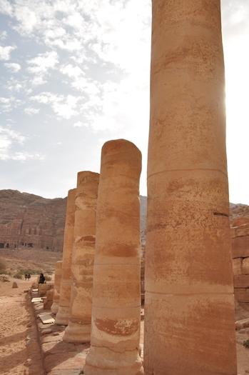 Markedsgaden i Petra i Jordan