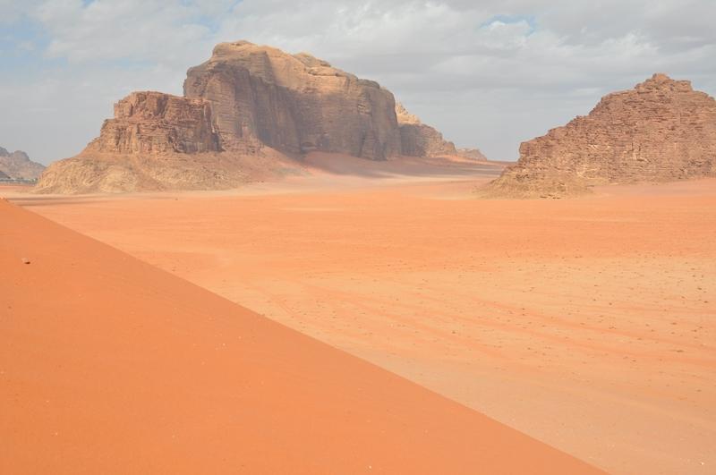 Wadi Rum ørkenen i Jordan