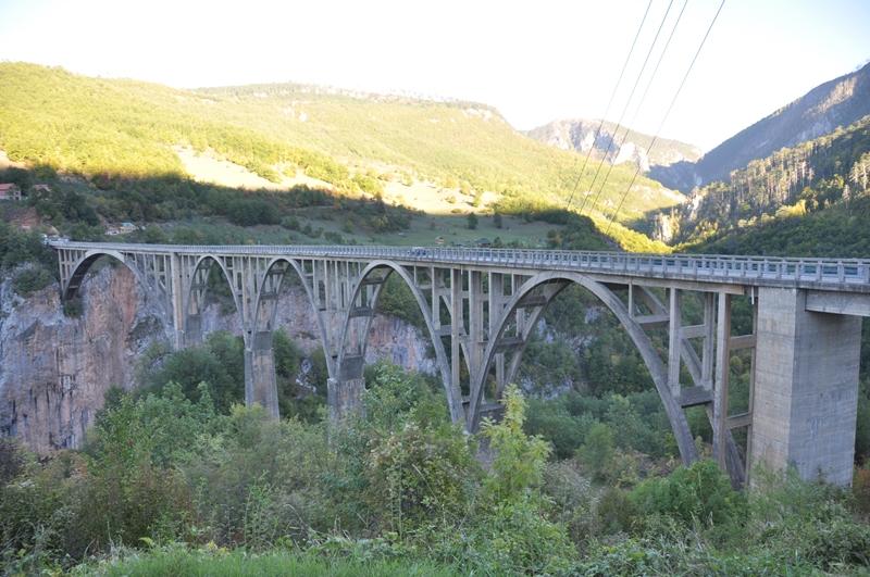 Tara-broen i Montenegro