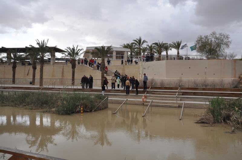 Et kig ind i Israel fra Jordan