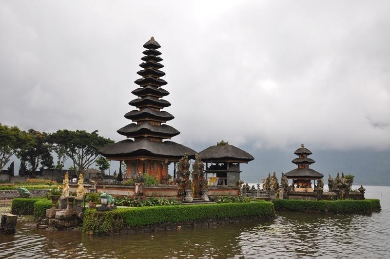 Templet i Lake Beratan