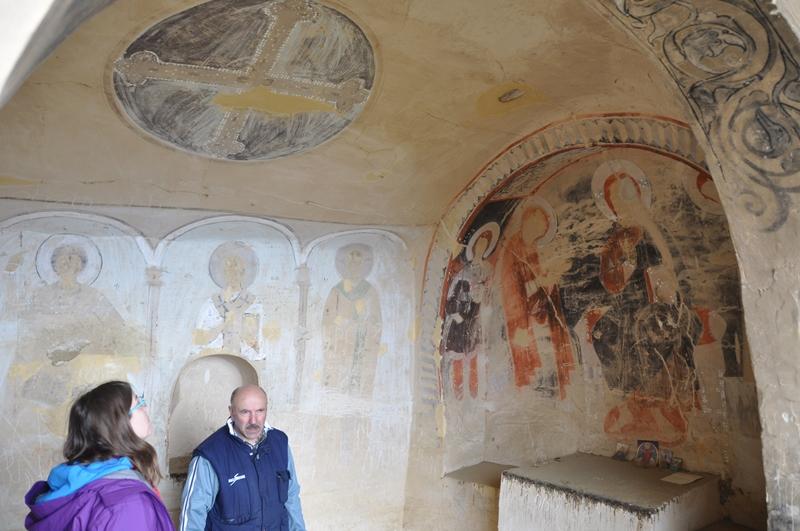 Religiøse malerier i David Gareja, Georgien
