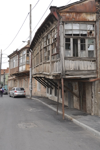 Gadebillede fra Georgien