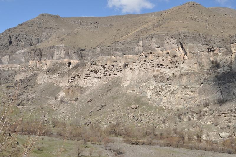 Klosteret Wardsia i Georgien