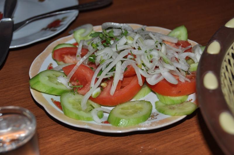 Frisk salat, Tblisi, Georgien