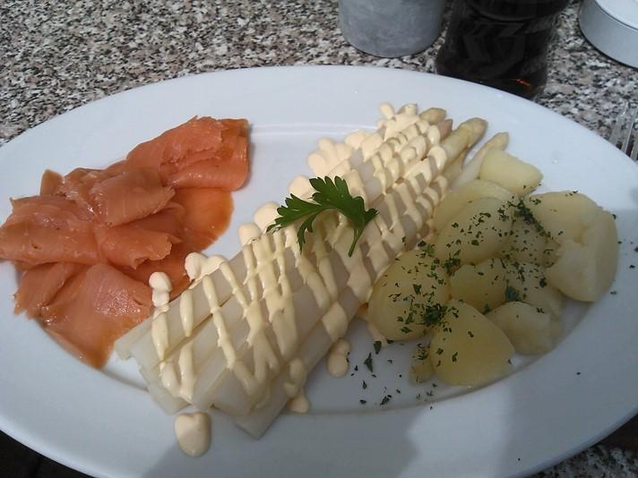 De første asparges i Schwerin