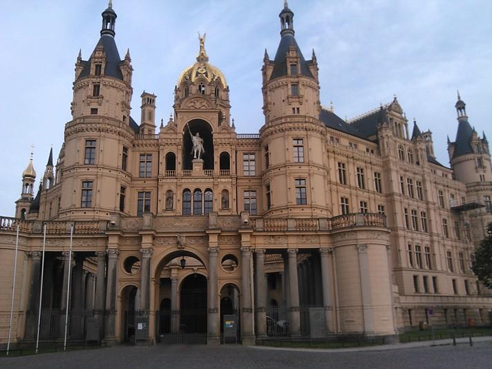 Det smukke Schwerin slot