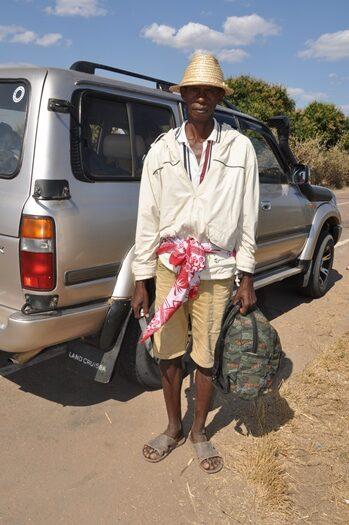 Vores ven som kørte med, Madagaskar