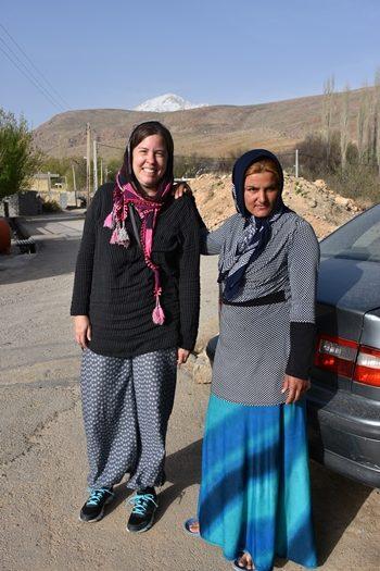 På besøg hos kusine Zarah i Zagrosbjergene