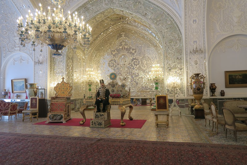 Spejlsalen i Golestan Palace, Teheran
