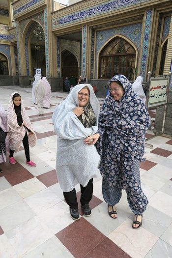 Anne Marie fik en ny veninde i Teheran, Iran