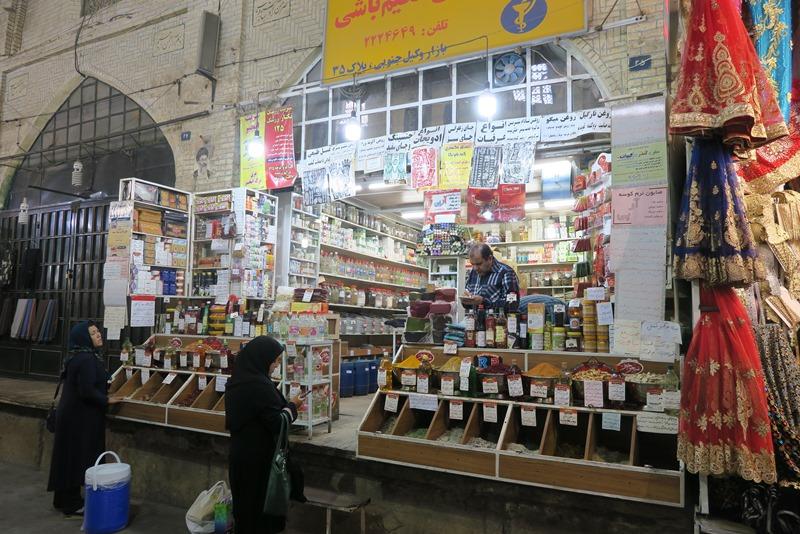 Bazar-e Vakil i Shiraz, Iran