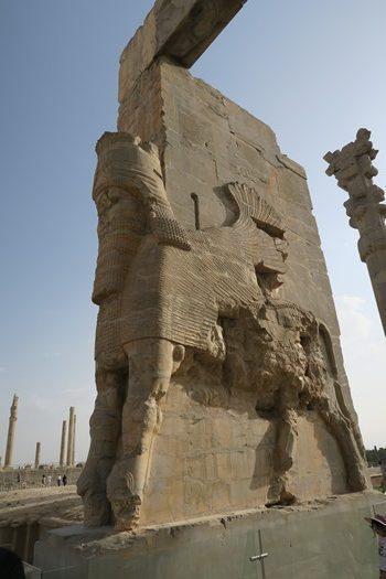 Indgangsparti Persepolis