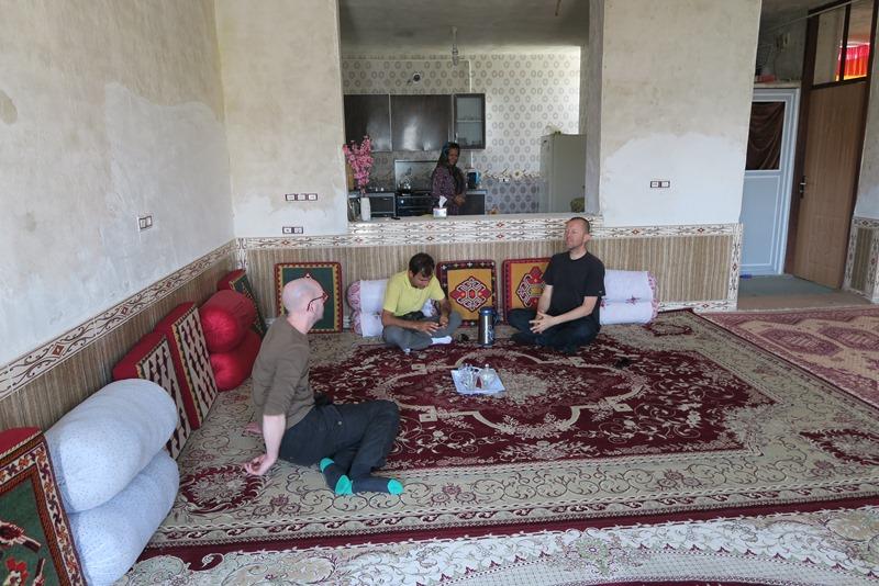 Et typisk iransk hjem
