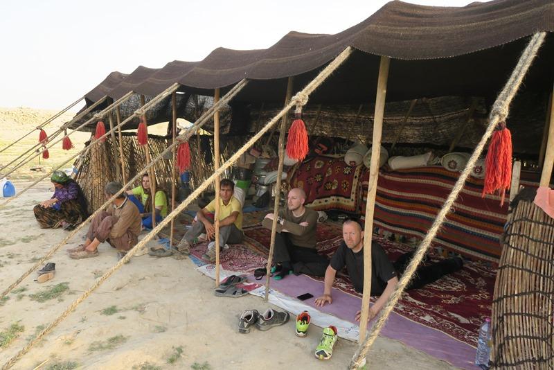 Fællesteltet hos nomaderne