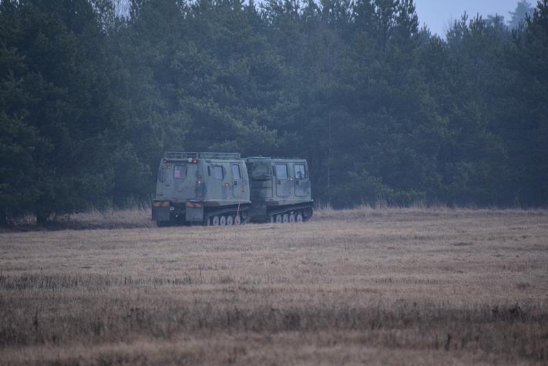 Besøg af den svenske militær