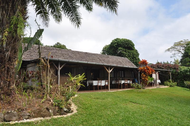 Restauranten på La Crique, Ile Sante Marie