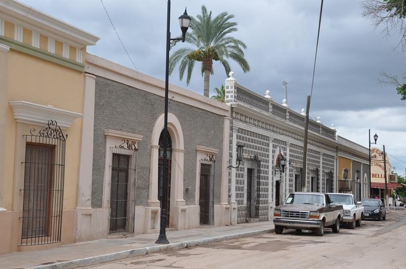 En lille by i det nordlige Mexico
