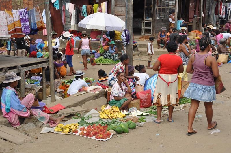 Markedet i Mananara