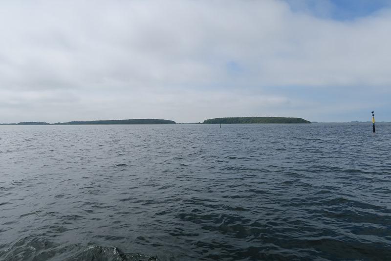 Vi sejler på Nakskov fjord