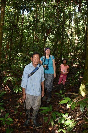 På tur i junglen, Colombia