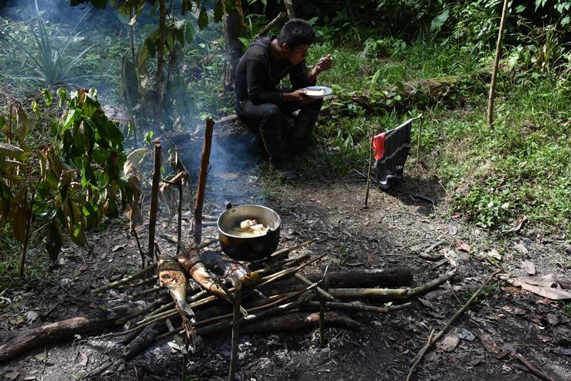 Køkkenet i 3 dage i Amazonas, Colombia